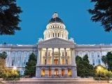 California Capitol in Sacramento - night