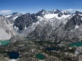 Palisade Range in the Sierra Nevada